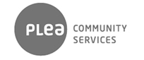 logo_plea-community-services-b&w