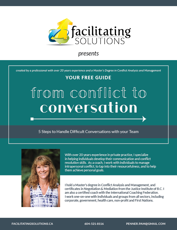 From Conflict to Conversation Free Guide